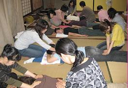 受講中の教室写真